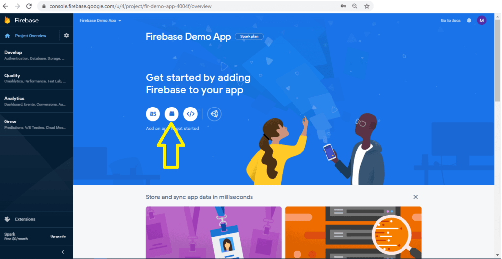 Getting started with Firebase on Android