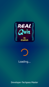 Splash Screen of Quiz App